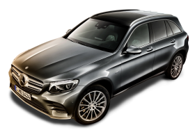 Mercedes Benz GLC Gray Car PNG