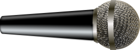 Microphone Lying on a Hard Surface PNG