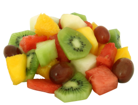 Mixed Color Fruits PNG