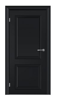 Modern Black door PNG