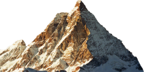 Mountain With Snow PNG