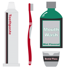 Mouthwash Objects PNG