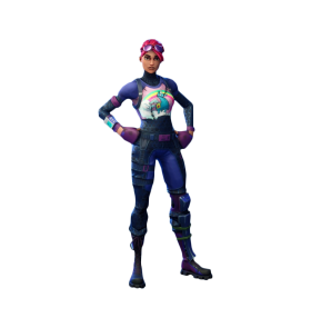 Brite Bomber Fortnite Full Skin PNG