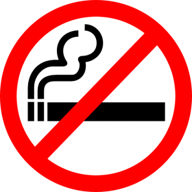 No Smoke Symbol PNG