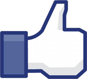 Old Facebook Like, Cornered PNG