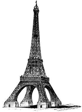 Eiffel Tower - Paris PNG