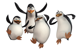Penguins of madagascar united attack PNG