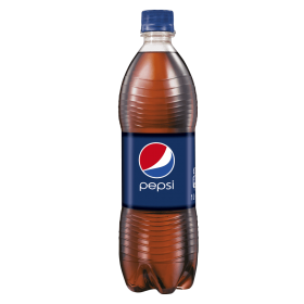 Pepsi Bottle Dark-Blue PNG