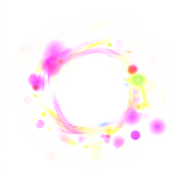 Pink Color effect circle PNG
