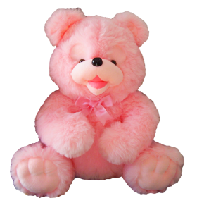 Pink Teddy Bear PNG