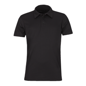 Plain Black Polo Shirt PNG