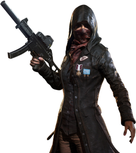 Playerunknown's Battlegrounds female agent(pubg) PNG