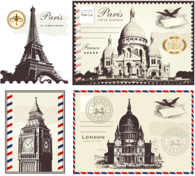 Postage Stamps - France PNG