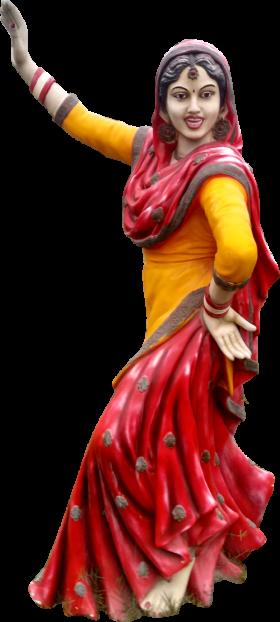 Punjab Gidha Statue Chandigarh Mohali Panchukula PNG