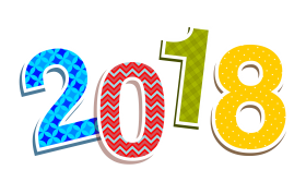 2018 Colorful PNG