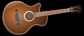 Acoustic Classic Guitar PNG