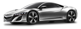 Acura NSX Gray Car PNG