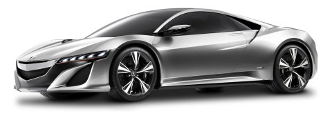 Acura NSX Gray PNG