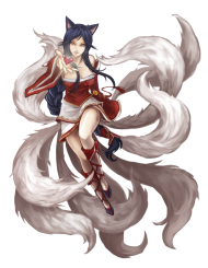 Ahri From League Of Legends PNG