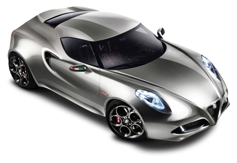 Alfa Romeo 4C Sports PNG