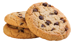 American Cookies Stacked PNG