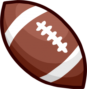 American Football Ball Clipart PNG