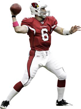 American Football Player Throwing A Ball PNG