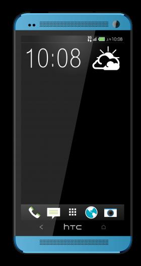 Blue HTC One M8 HTC One Max Dual SIM PNG