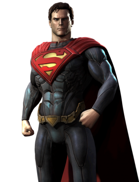 Angry Super Man PNG