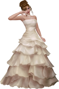 Animated Bride PNG
