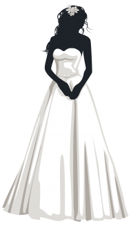 Anonymous Bride PNG