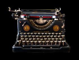 Antique Typewriter PNG