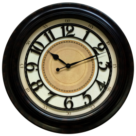 Antique Wall Clock PNG