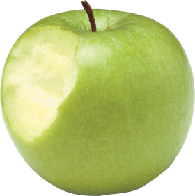 Apple bitten out PNG