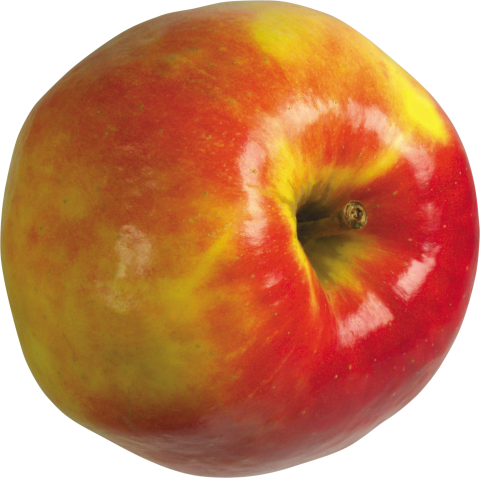 Apple Red and yellow PNG