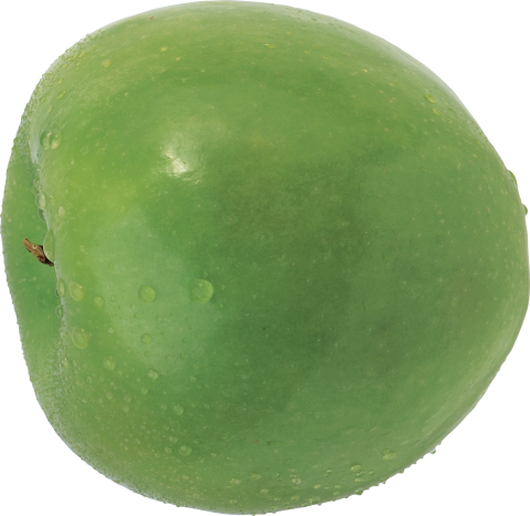 Apple with Water PNG