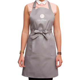 Apron For Master Gloria Gray PNG