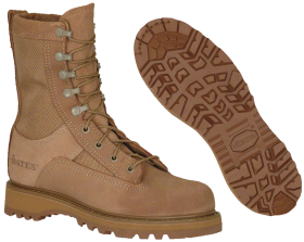 Army Temperate Weather boots PNG