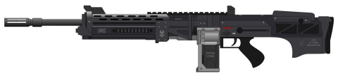 Assault Rifle Clipart PNG