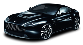 Aston Martin Carbon Black Car PNG