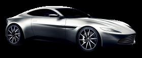 Aston Martin DB10 Silver Car PNG