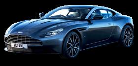 Aston Martin DB11 Blue Car PNG