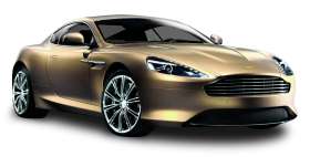 Aston Martin Dragon 88 Gold Car PNG