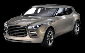 Aston Martin Lagonda Silver Car PNG