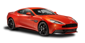 Aston Martin Vanquish Red Car PNG