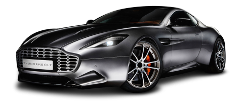 Aston Martin Vanquish Thunderbolt Car PNG
