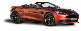 Aston Martin Vanquish Volante Car PNG