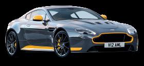 Aston Martin Vantage GT8 Grey Car PNG