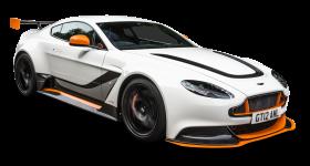 Aston Martin Vantage White Car PNG