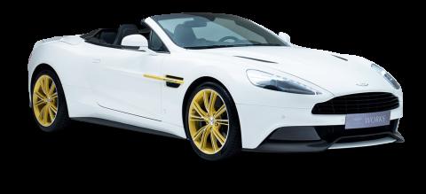 Aston Martin White PNG